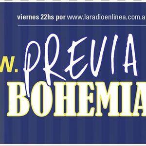 Previa Bohemia - Viernes 20 de Octubre de 2017