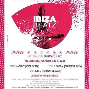 Ibiza Beatz Boat Party ft. Will Giles