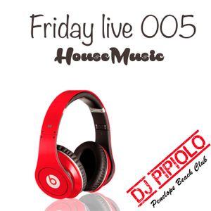 Friday live 005 DJ Pipiolo Penelope beach club