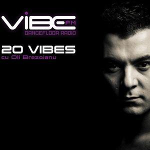 20 VIBES Chart 002 - 28.09.2013 | Oli Brezoianu @ Vibe FM