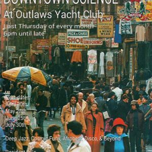 Downtown Science - Decknologist @ Outlaws Yacht Club 31-7-2015