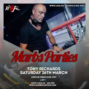 Marbs Parties on Lick - 26th March 2016