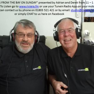 """Adrian and Derek on Rivierafm """"The Extra Hour"""" Sunday 12.4.15"""