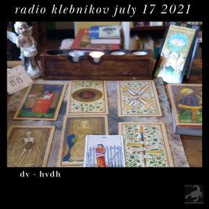 Radio Klebnikov Uitzending 17/07/2021