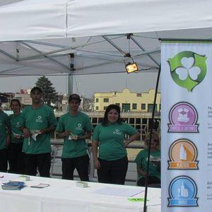 Cooperativa de reciclado urbano EL TRÉBOL; Roberto Pontarollo, secretario.