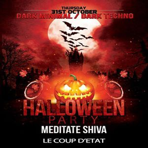 MEDITATE SHIVA Dj set @ Halloween Party 31/10/213 [Toulouse]