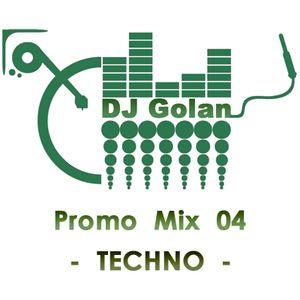 DJ Golan - PROMOMix04 (TECHNO & Hard)