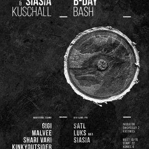 Siasia aka Luks - Liquid Drum & Bass Mix at 'B-Day Bash' (16.07.2016 INQbator Club, Katowice/PL)