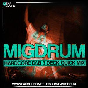 MIGDRUM - HARD DNB 3DECK STUDIO MIX VOL.1