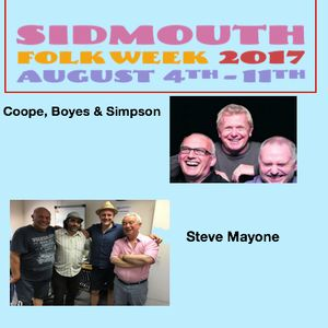 Brooklands Radio Mainly Folk August 2017