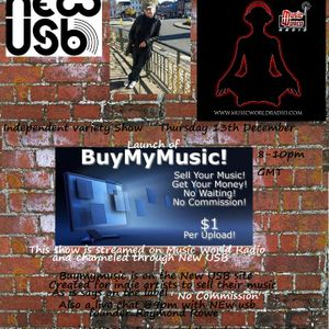 Independent Variety Show: Buymymusic shop launch and chat with Raymond Rowie