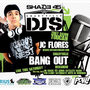 Shadyville DJS BANGOUT on Shade 45 w/ @thatdamntoucan