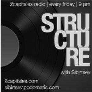 Structure Radio Show 009 (2Capitales Radio, Paris) fresh'n'exclusive by Kristina Vixen (01.04.2011)