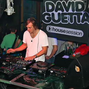 Sergiio Sound - Mixer tracks by David guetta @ Session House (2011)