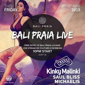 Saul Bliss - Bali Praia Live Stream - March 2019