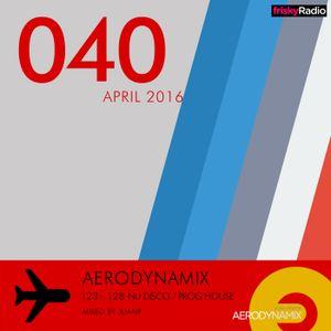 Aerodynamix 040 @ Frisky Radio Apr 2016 mixed by JuanP