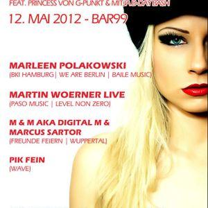 PIK-FEIN @ TU! Prinzess B-day Bash - Bar99 (ex-vinylbar) - 12/05/12