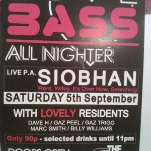 Billy Willy Bassline Mix - LIVE @ The Tube - Siobhan Night - LOVE BASS