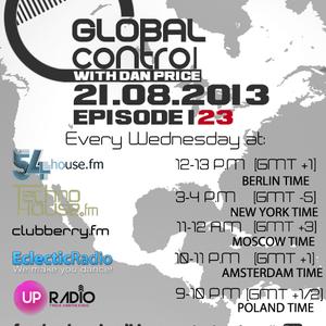 Dan Price - Global Control Episode 123 (21.08.13)