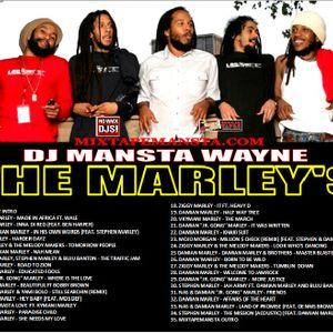 DJ MANSTA WAYNE PRESENTS THE MARLEY'S MIX 2012