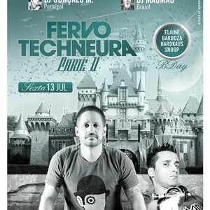 Gonçalo M. - Live @ Fervo & Techneura PT2, Clash Club, São Paulo, Brasil (13.07.2012)
