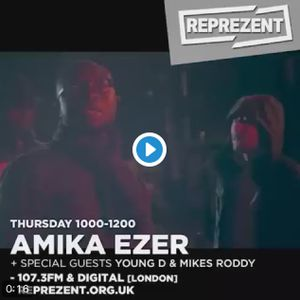 Mikes Roddy and Young D join Amika Ezer on Reprezent radio for an interview and freestyle! 8/12/16