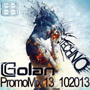 DJ Golan - PromoMix13_102013 (TECHNO)