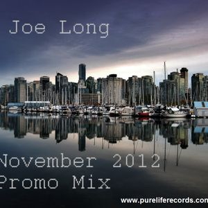 November 2012 Pure Life Records Promo Mix - Vancouver Sessions