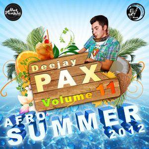 DJ PAX Volume 11 - Afro Summer 2012