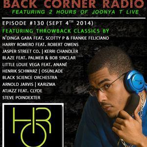BACK CORNER RADIO: Episode #130 [#THROWBACK EDITION] (Sept 4th 2014)