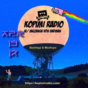 Kopimi Radio @mazanga 04 19 17