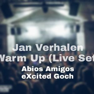 Warm Up Set @Abios Amigos (Live-Set from Club) by Jan Verhalen