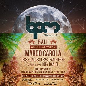 Marco Carola  Live @ The BPM Festival Bali (Indonesia)   24 Apr 2019