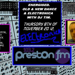 Energised - Old & New Dance & Electronica With DJ Tim - 8/11/12 - 103.2 Preston Fm