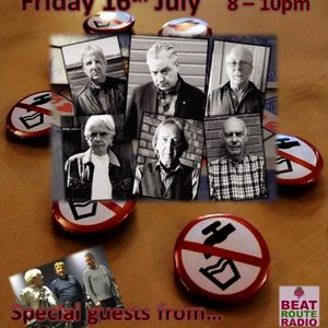 The Weekend Warm Up 16 07 2021 with Special guests 'Don't Drink The Water' on Beat Route Radio.