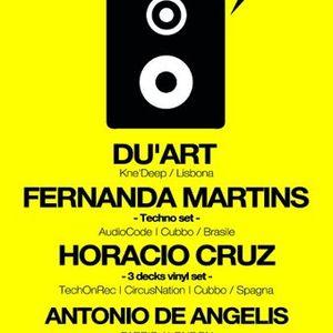 Du'ArT - Live @ Twisted Beach, Twisted Club, Salerno, Itália (07.07.2012)