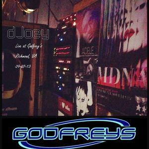 live @ Godfrey's 09.07.13