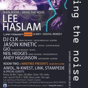 Jason Kinetic Live @ Bring the noise 2, Warehouse, Bristol, 18th December 2010
