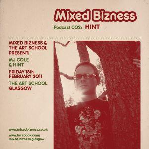 Promo Mix for Mixed Bizness @ The Art School, Glasgow