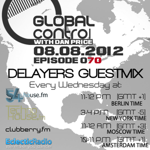 Dan Price - Global Control Episode 070 (08.08.12) Delayers Guestmix
