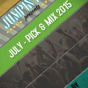 JUMPIN DJ'S - July  Pick & Mix 2015 (Mixed By Shaun S)
