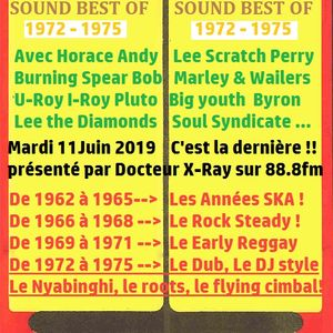 MUSICAL RETRO SOUND # BEST OF 1975 and before... JAMAICAN REGGAE HITS (last show)