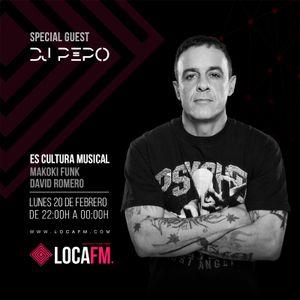 Dj Pepo / Es Cultura Musical 01@ Loca Fm. 20 Febrero 2017