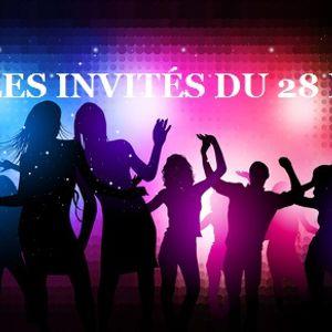 Les invités du 28 B Le 15-10-2015