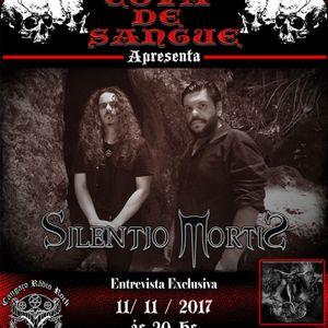 Programa Cova de Sangue - #33 - Entrevista com a banda Silentio Mortis (11.11.2017)