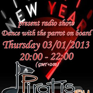 Michanuel - Dance with the parrot on board (episode # 8) @ Piratis sta FM (03-01-2013)