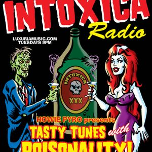 Intoxica Radio w/Howie Pyro 10-15-2013 SPECIAL GUEST TIM WARREN FROM CRYPT RECORDS!