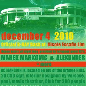 Live @ Mansion - December 4, 2010 - part 2
