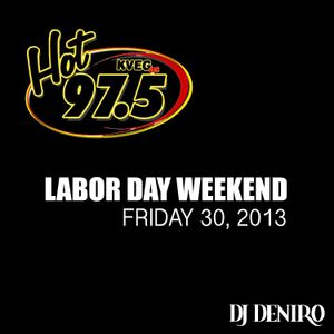 HOT 97.5 8/30/2013 LDW ALL MIX WEEKEND