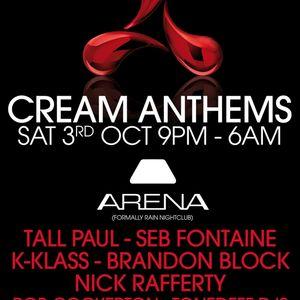 T.D.U.K - Live on KMFM - Cream Anthems - Oct 2009